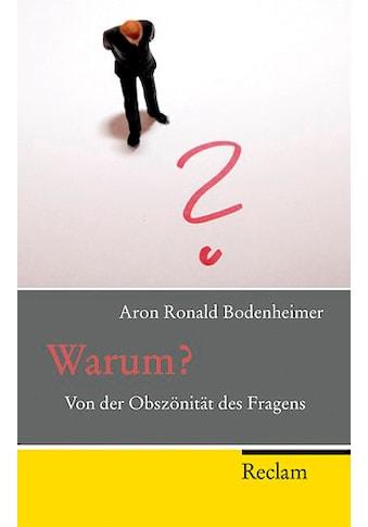 Buch »Warum? / Aron R. Bodenheimer« kaufen