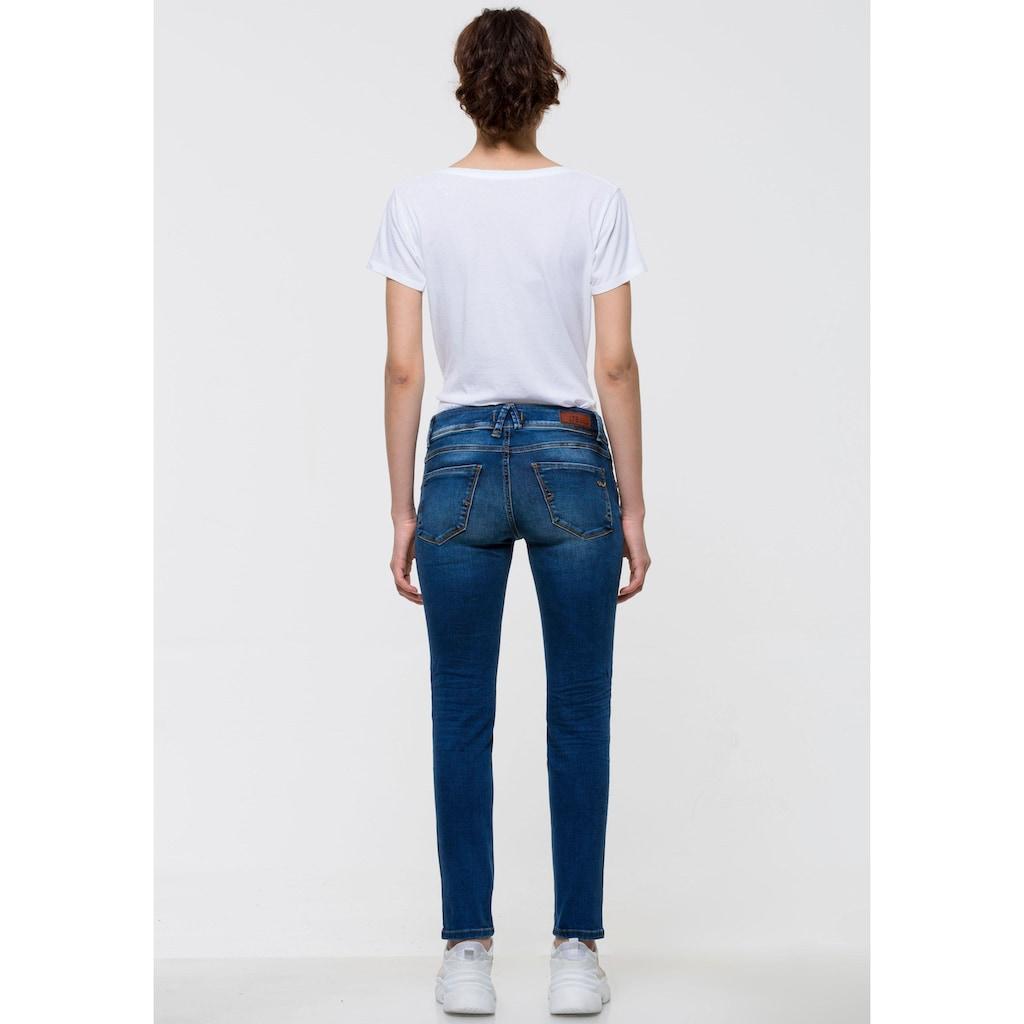 LTB Skinny-fit-Jeans »SENTA«, mit Doppel-Knopf-Bund