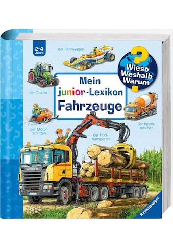 Ravensburger Buch »Mein junior-Lexikon: Fahrzeuge - Wieso? Weshalb? Warum?«, Made in Europe kaufen
