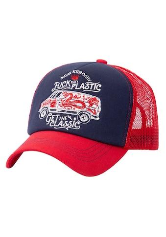 KingKerosin Trucker Cap, mit großflächiger Stickerei kaufen