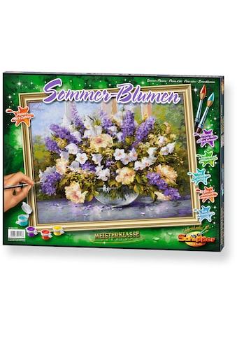 """Schipper Malen nach Zahlen """"Meisterklasse Premium Sommerblumen"""" kaufen"""