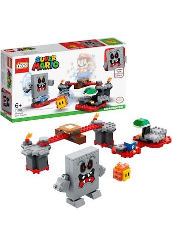 """LEGO® Konstruktionsspielsteine """"Wummps Lava - Ärger – Erweiterungsset (71364), LEGO® Super Mario"""", Kunststoff, (133 - tlg.) kaufen"""