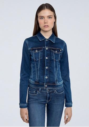 Pepe Jeans Jeansjacke »CORE JACKET«, mit aufgesetzten Brusttaschen und durchgehender... kaufen