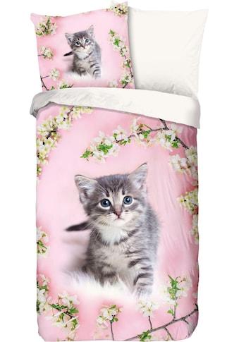 good morning Kinderbettwäsche »Pussycat«, mit Katze kaufen