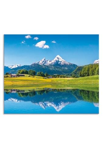 Artland Küchenrückwand »Landschaft in den Alpen« kaufen