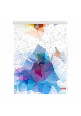 LICHTBLICK Seitenzugrollo »Klemmfix Motiv Grafik«, Lichtschutz, ohne Bohren,... kaufen