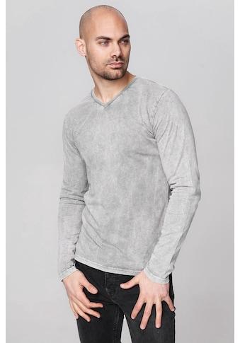 trueprodigy Langarmshirt »Premium Basic Leroy«, Vintage Look kaufen
