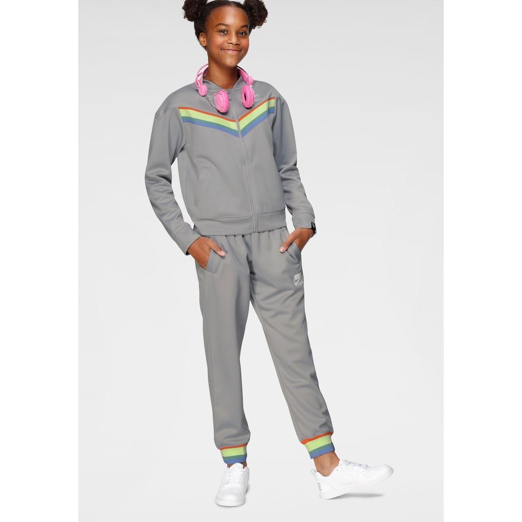 Nike Sportswear Jogginganzug »GIRLS NIKE SPORTSWEAR HERITAGE TRACK SUIT« (Set, 2 tlg.)