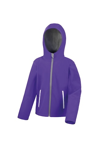 Result Softshelljacke »Core Kinder Unisex Junior Softshell-Jacke mit Kapuze« kaufen