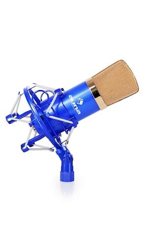 Auna Kondensatormikrofon Studio Gesang Instrumente Mikrofonspinne XLR »CM 001« kaufen