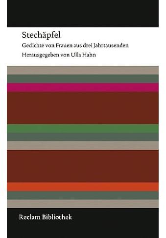 Buch »Stechäpfel / Ulla Hahn« kaufen