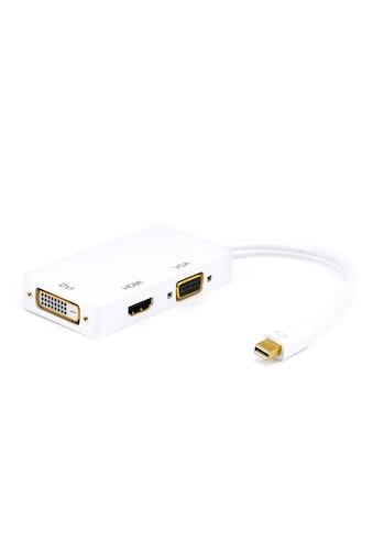 CSL 3in1 Full HD Mini-Displayport Adapter-Kabel »Mini DP Stecker zu DVI, VGA und... kaufen