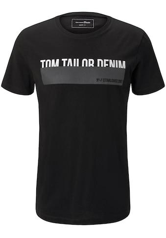 TOM TAILOR Denim T-Shirt kaufen