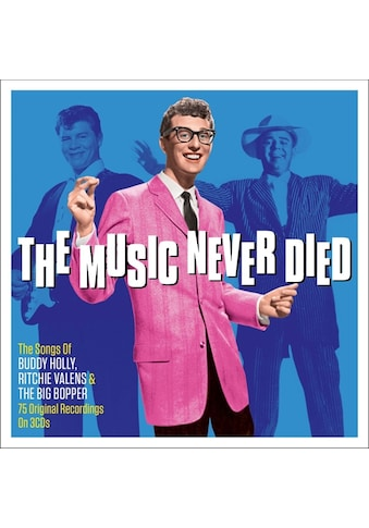 Musik-CD »The Music Never Died / Holly,Buddy/Valens,Ritchie/Big Bopper,The« kaufen