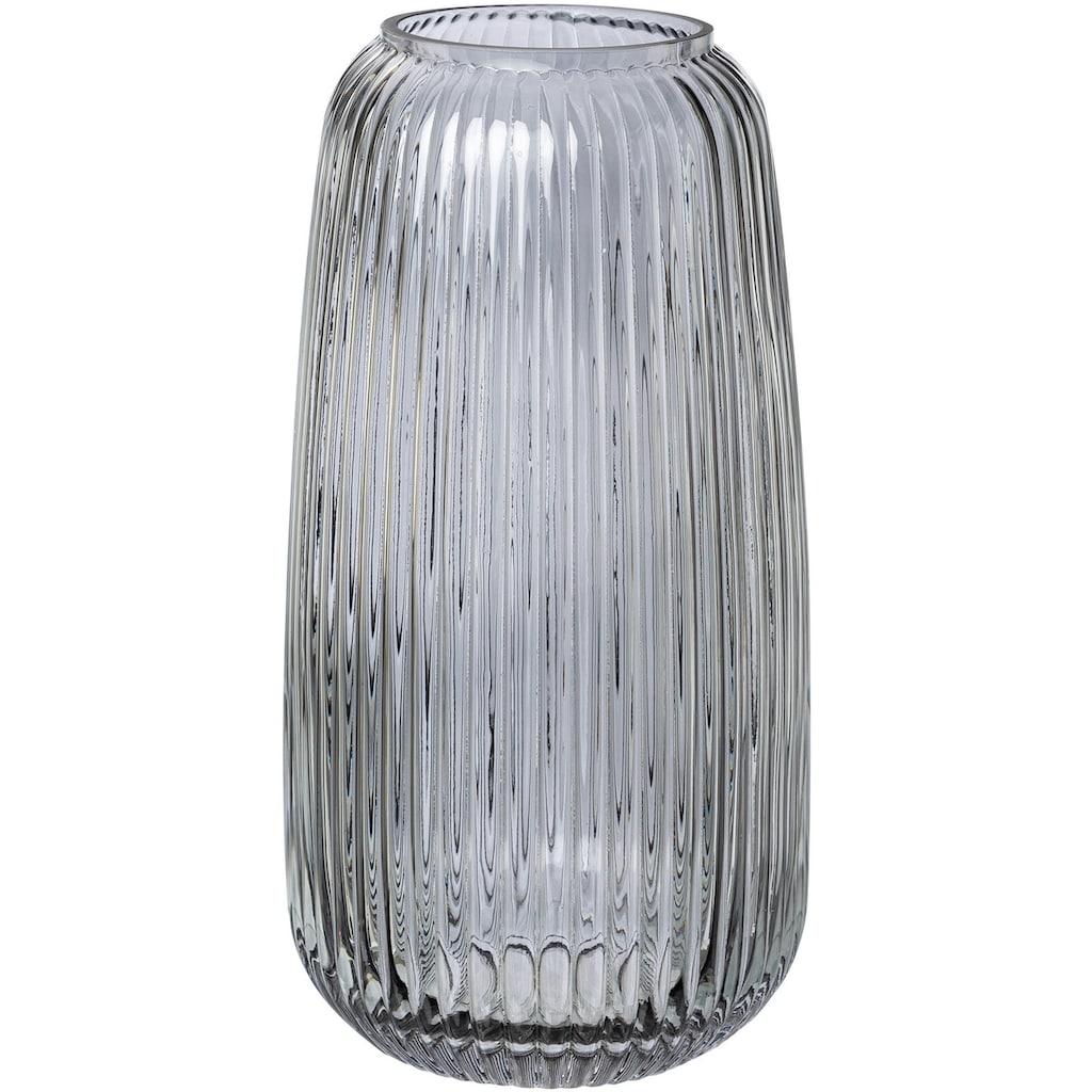 elbgestoeber Tischvase »elbrille«, aus Glas, Höhe ca. 30 cm