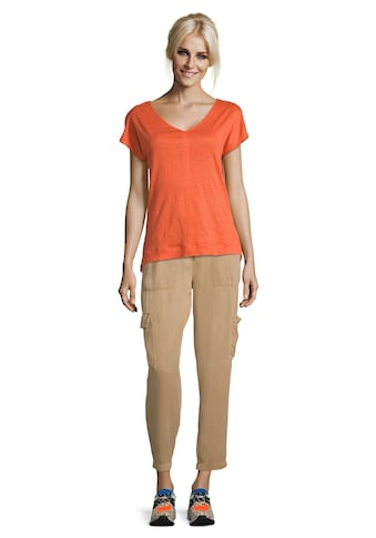 Cartoon T - Shirt »unifarben« kaufen