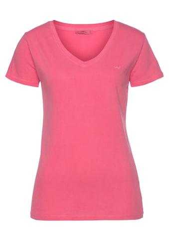 LTB Kurzarmshirt »ASYON«, in Neonfarben und cleanem Design kaufen