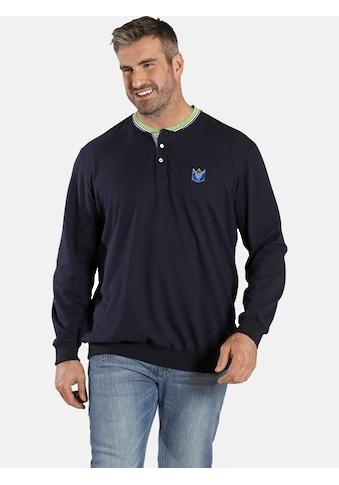 Charles Colby Sweatshirt »EARL GWILYM«, spezieller Bauchschnitt kaufen