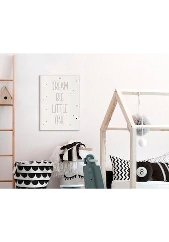 Reinders! Wandbild »Slim Frame White 50x70 Dream Big Little One« kaufen