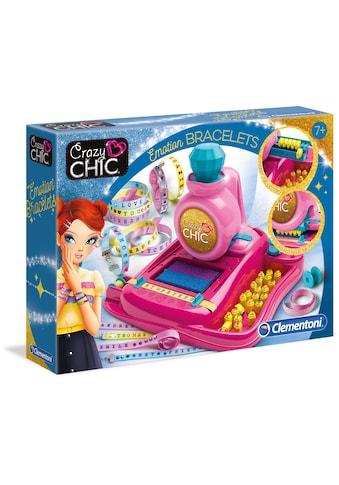 Clementoni® Kreativset »Crazy Chic - Stimmungsarmbändchen«, mit kostenloser App; Made... kaufen