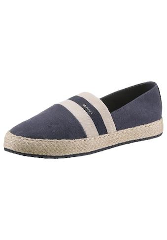 Gant Footwear Espadrille »Raffiaville«, mit Textilinnenausstattung kaufen