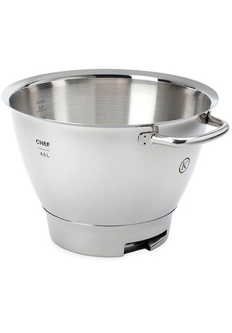 KENWOOD Küchenmaschinenschüssel »Chef Titanium Edelstahl-Rührschüssel KAT711SS«,... kaufen