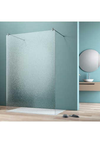 maw Walk-in-Dusche »flex A-W002C«, BxH: 90 x 200 cm, Crash-Glas klar kaufen