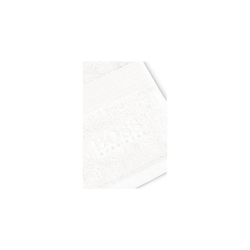 Hugo Boss Home Badematte »LOFT«, Höhe 10 mm, Ägäische Baumwolle