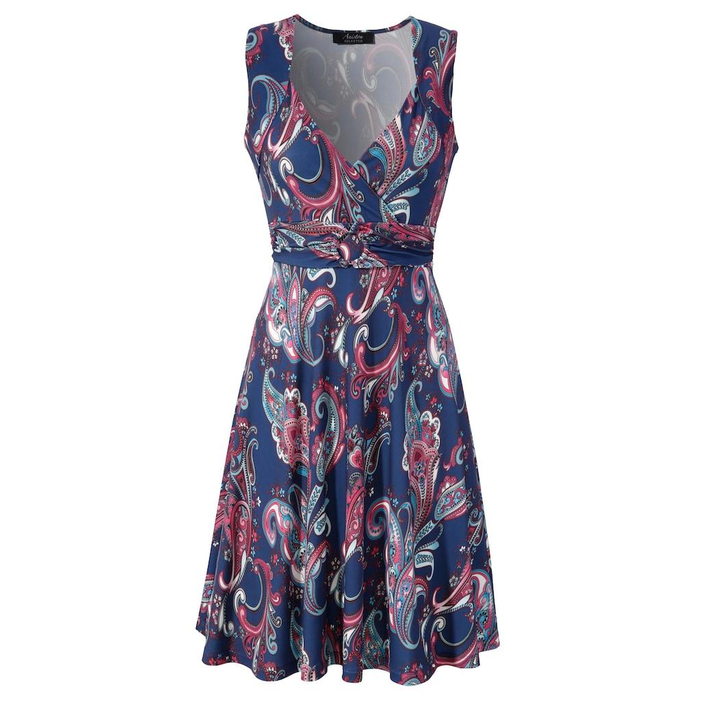 Aniston SELECTED Sommerkleid, mit Schmuckelement