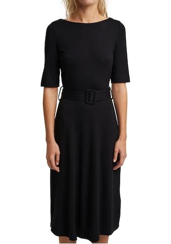 Esprit Collection Jerseykleid, mit elegantem Gürtel kaufen