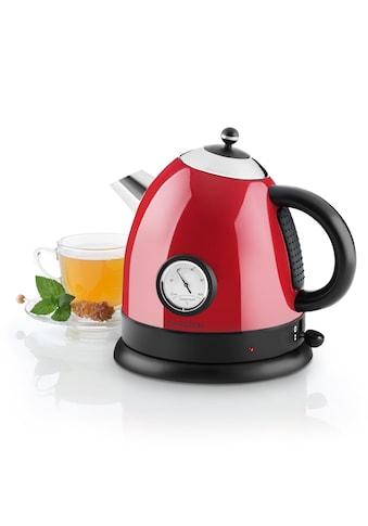 Klarstein Wasserkocher Teekessel 1,5l 2200W Thermometer rot kaufen
