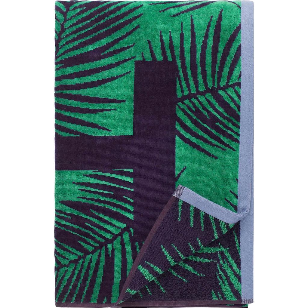 TOMMY HILFIGER Strandtuch »Coconut Palm«, (1 St.), mit Logo