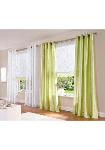 my home Gardine »Tayma«, Vorhang, Fertiggardine, transparent kaufen