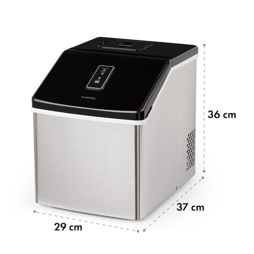 Klarstein Eiswürfelmaschine 13kg/24h Edelstahl