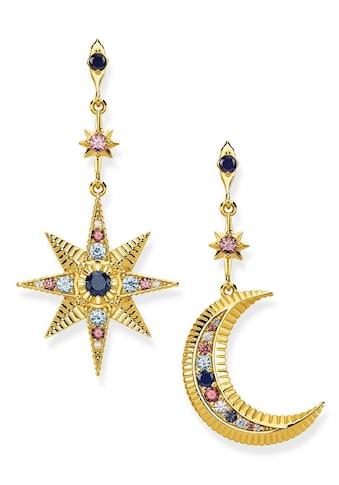 THOMAS SABO Paar Ohrstecker »H2025 - 959 - 7, Royalty Stern & Mond« kaufen