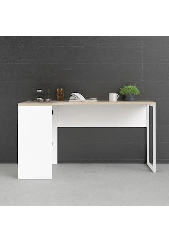 Home affaire Eckschreibtisch »Plus«, mit vielen Stauraummöglichkeiten, zeitloses Design kaufen