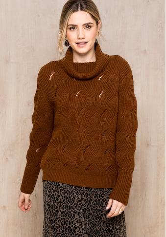 bianca Strickpullover »NOVIS«, mit Jacquard Muster kaufen