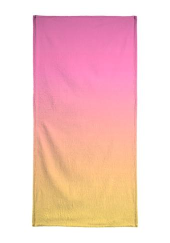 "Strandtuch ""A Flamingo Sunset"", Juniqe kaufen"