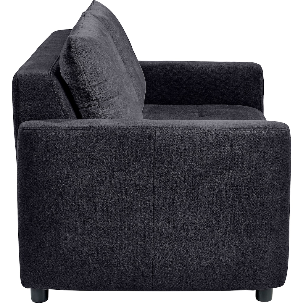 set one by Musterring Sofa »SO 4200«, 2 Sitzer, wahlweise mit Bettfunktion, Federkern oder Boxspringfederung