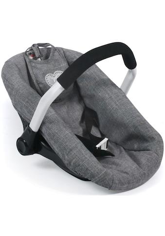 """CHIC2000 Puppen Autositz """"Jeans Grey"""" kaufen"""