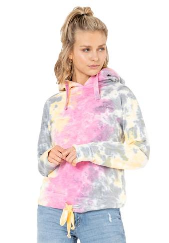 Rock Angel Kapuzensweatshirt, in Batikoptik kaufen