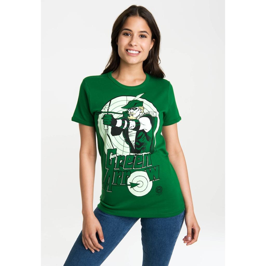 LOGOSHIRT T-Shirt »Green Lantern«, mit lizenziertem Originaldesign
