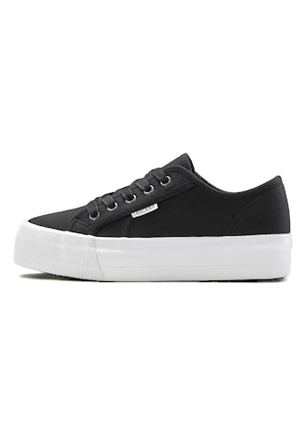 LASCANA Sneaker, aus Textil mit Plateausohle kaufen