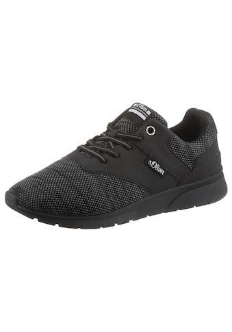 s.Oliver Slip-On Sneaker, im Materialmix kaufen
