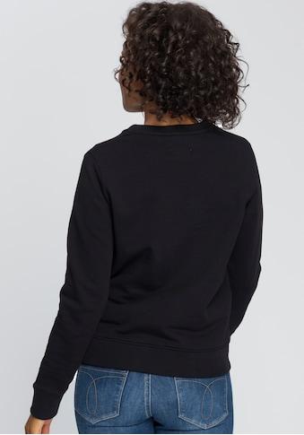Calvin Klein Sweatshirt »LS CORE LOGO HWK«, mit Calvin Klein Logo-Schriftzug kaufen