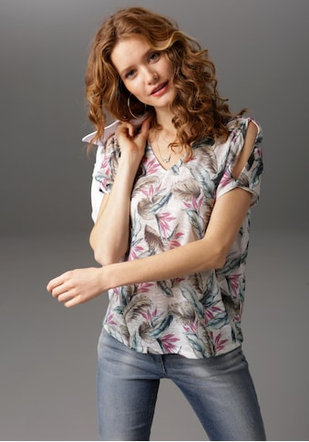 Aniston CASUAL T-Shirt, mit Cut-out Schultern kaufen