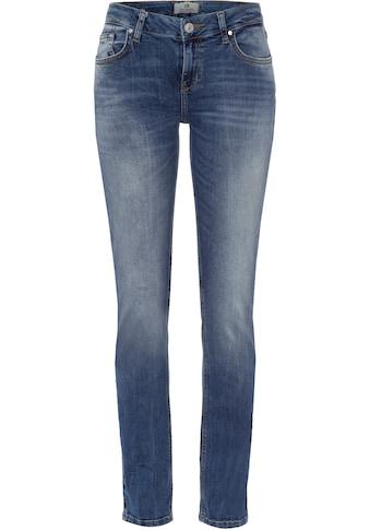 LTB Slim-fit-Jeans »ASPEN Y«, mit Knopf und verkürztem Zipfly am Bund kaufen