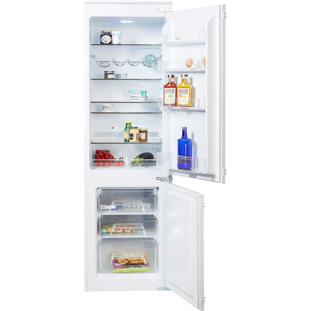 Amica Einbaukühlgefrierkombination, Sicherheitsglas