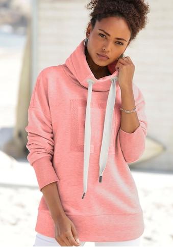 Elbsand Sweatshirt »Arndis«, mit weicher Applikation kaufen