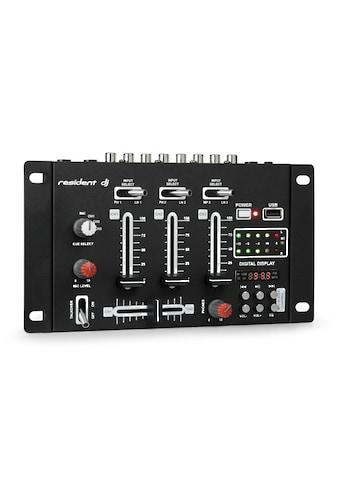 resident dj DJ - Mixer Mischpult Bluetooth USB schwarz »DJ - 21 BT« kaufen